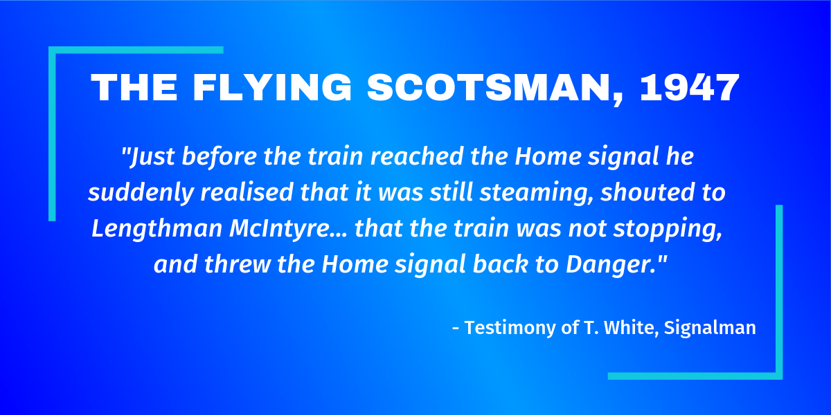 The Flying Scotsman, 1947